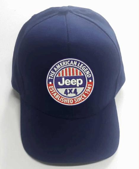 Bonés Aba Curva Bordado Jeep !!! Promoção!!!
