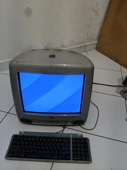 Apple iMac G3 Os 10.4 Teclado Colecionador Funcionando