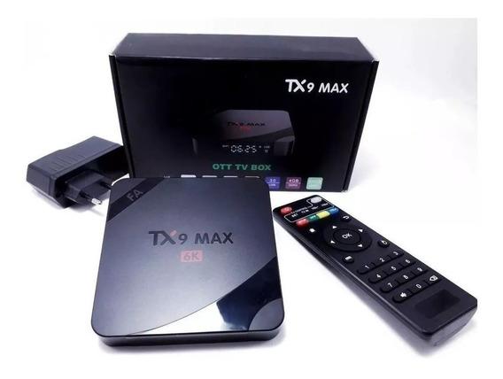 Transforme Tv Smart Box Tv Tx9 A 9.0 4gb 32gb +mini Teclado