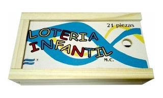 Lotería Infantil De Madera Artesanal 21 Piezas Kaosimport 11