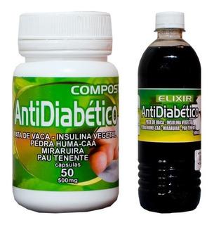 Anti Diabetes Composto Muiraruíra,pata De Vaga,pedra Hume K