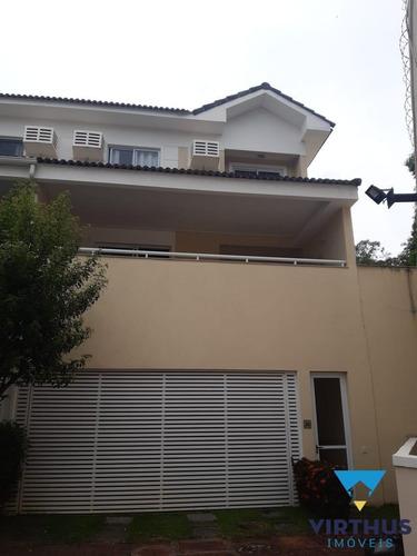 Casa Em Condomínio Fechado Na Freguesia, 3 Suítes - V416