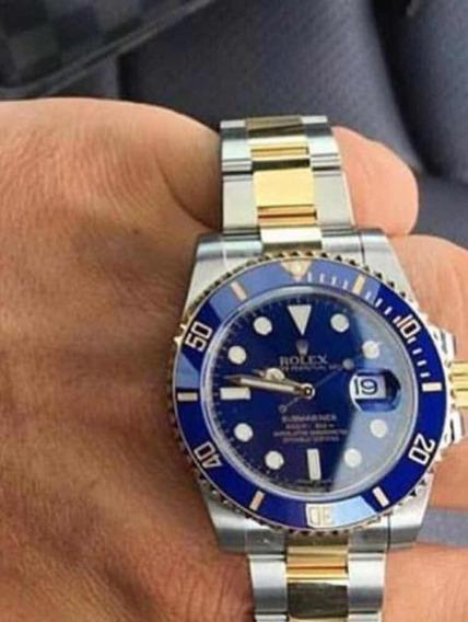 Relogio Rolex Submariner ,automático,acabamento Suíço