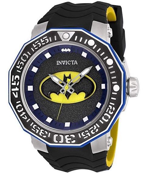 Invicta Automático Dc Comics Batman Modelo 27092 Original