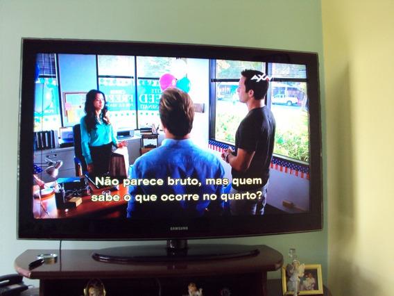 Tv - Lcd - Samsung - 52 Polegadas - Retirar No Local