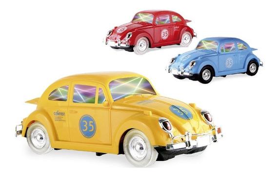 Carrinho Bate E Volta Fusca - Zoop Toys
