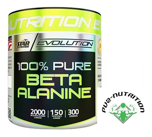 100% Beta Alanina - Star Nutrition - Canning, Ezeiza, Glew