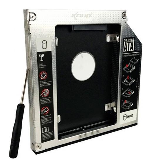 Adaptador Case Caddy Hd Ssd Sata 2.5 Gaveta Notebook 12,7mm