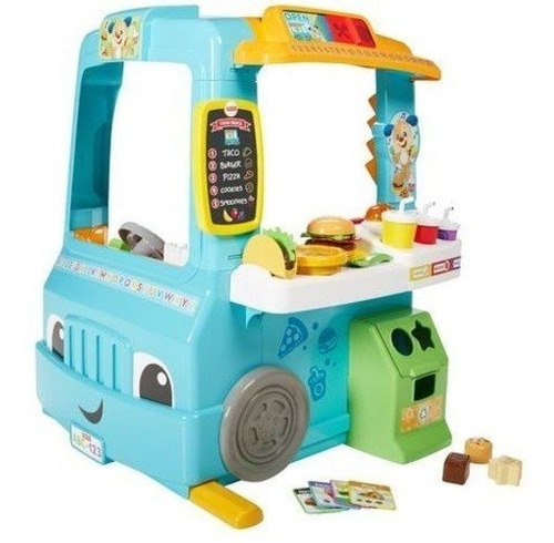 Fisher-price Food Truck Cocina De Juguete Aprendizaje Niños