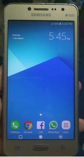 Samsung J2 Prime 60vd Lte Digitel Detalle Botones Tactiles