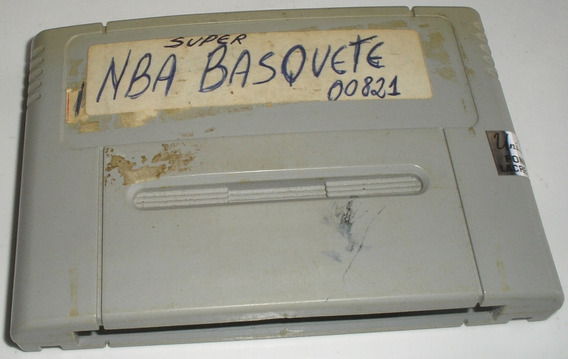 Tecmo Super Nba Basketball Super Nintendo Paralela Usada