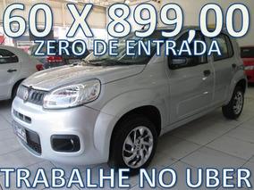 Fiat Uno Attractive Completo Zero De Entrada + 60 X 899,00