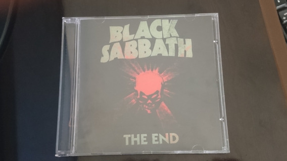 Cd Black Sabbath - The End (importado - Novo Não Lacrado)