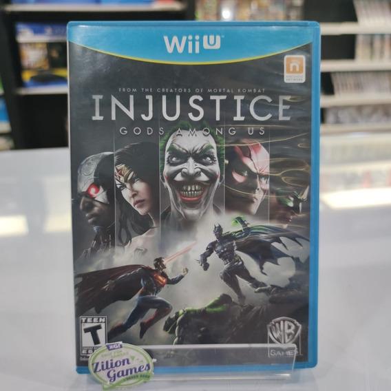 Injustice Gods Among Nintendo Wii U - Completo
