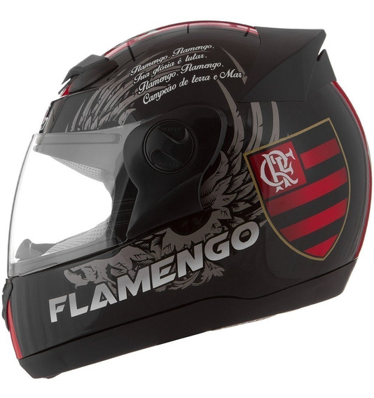 Capacete Pro Tork Time Mengão Flamengo Futebol Oficial
