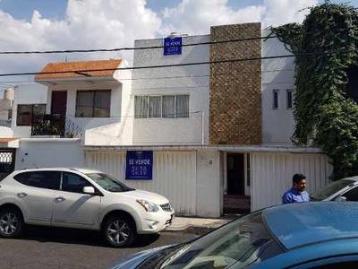 Casa En Venta En Paseos De Churubusco