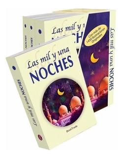 Las Mil Y Una Noches - 4 Tomos - Con Ilustraciones
