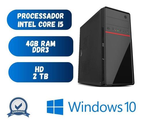 Imagem 1 de 2 de Pc Star Core I5 4gb Ram Hd 2tb Windows 10 - Programas