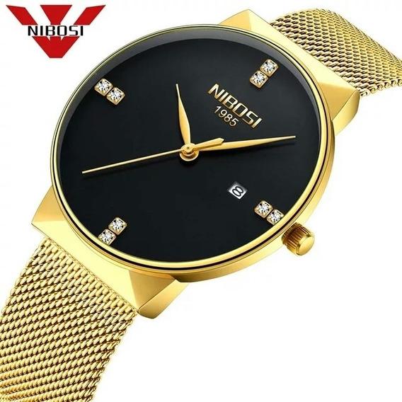 Relógio Nibosi 2316 Aço Inox Blindado À Prova D