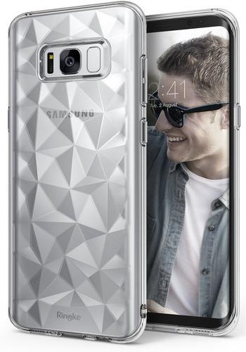 Forro Ringke Air Prism Transparente Para Samsung Galaxy S8