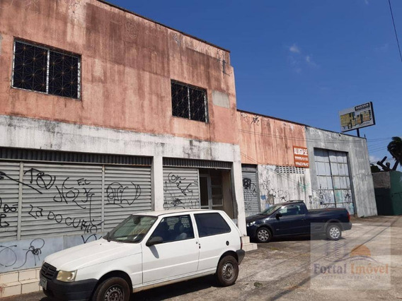 Galpão Para Alugar, 600 M² Por R$ 16.000,00/mês - Messejana - Fortaleza/ce - Ga0119