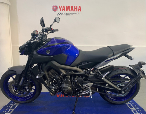 Yamaha Mt09 Abs Azul 2021