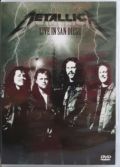 Dvd Rock I. Metallica - Live In San Diego / 1992 (a) E01