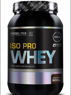 Suplemento Iso Pro Whey Protein Probiótica (900g)