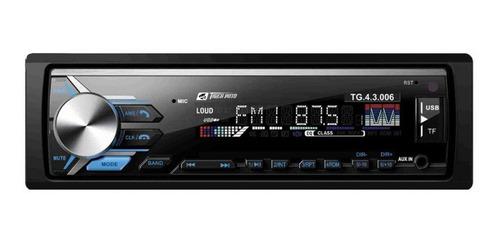 Som automotivo Tiger Auto TG-4.3.006 com USB, bluetooth e leitor de cartão SD
