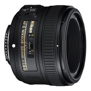 Lente Objetivo Nikon Fijo Af-s Nikkor 50 Mm F/1.8g Garantía