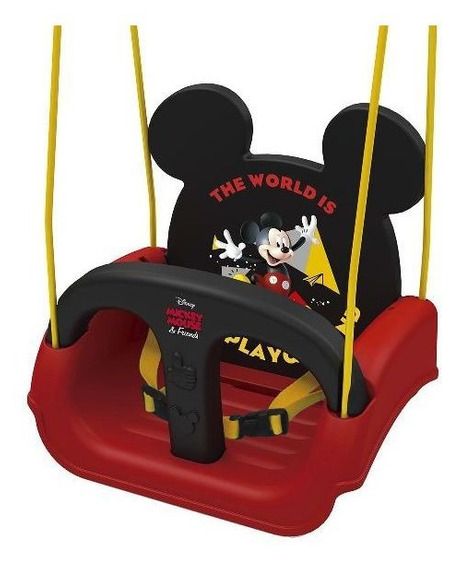 Balanço Infantil Com Encosto Regulavel Mickey Xalingo 1979.8