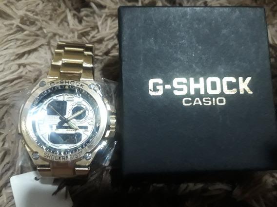 Relogio Casio G-shok Metal Dourado