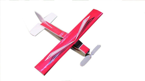Aeromodelo Cesna Na Cor Vermelho