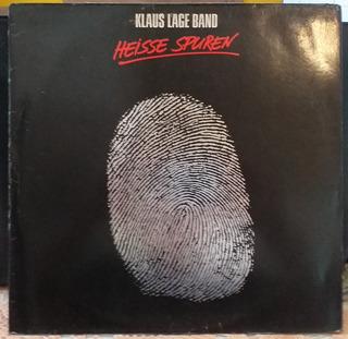 Lp Klaus Lage Band - Heisse Spuren (1985) Importado