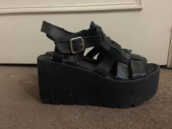 Zapatos Plataforma Tiritas