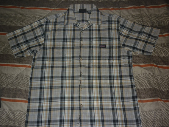 E Camisa Dickies Cuadros Beige Talle L Art 98815