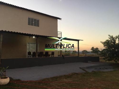 Chácara Com Casa À Venda Próxima A Uberlândia 22.000 M² Aceita Permuta - 378