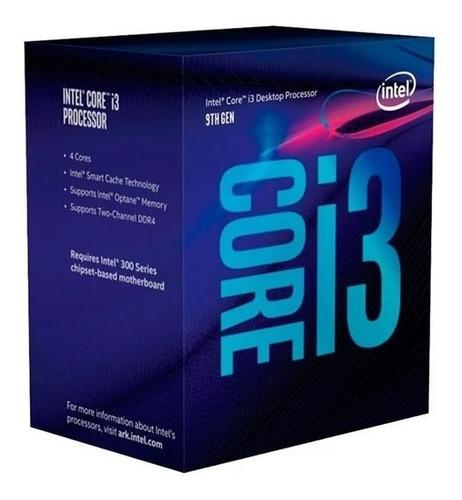 Imagen 1 de 5 de Procesador Intel Coffelake Core I3 9100 3.6 Ghz S1151