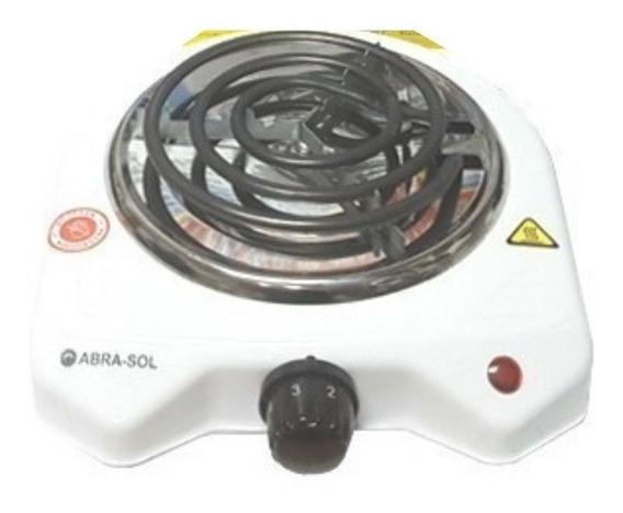 Anafe Eléctrico Abrasol 1 Hornalla 1200w Regula Temperatura