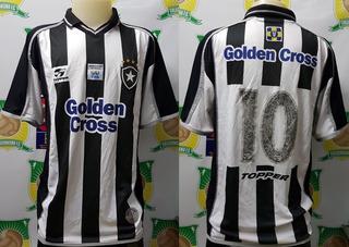 Camisa Futebol Botafogo Topper Golden Cross # 10 De Jogo