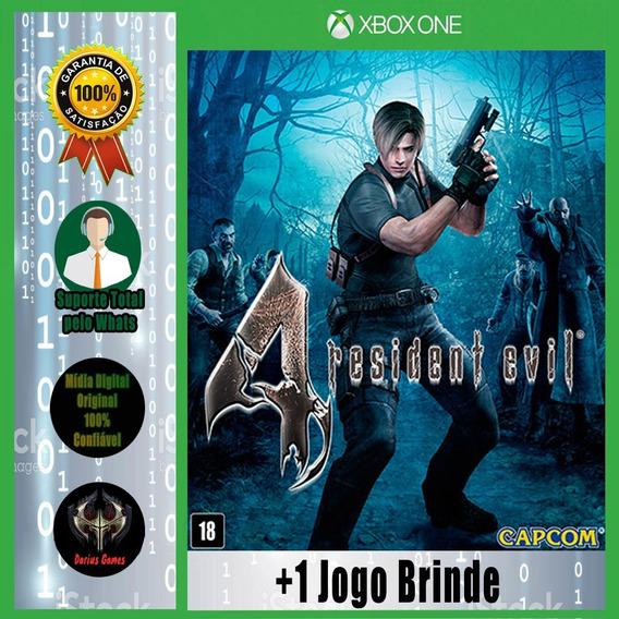 Resident Evil 4 Midia Digital Xbox One + 1 Jogo Brinde
