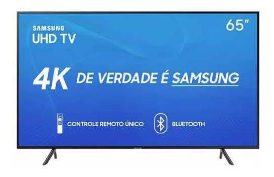 Smart Tv Led 65 Samsung 65ru7100 Ultra Hd 4k Frete Grátis*