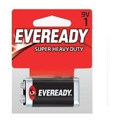 Pilas 9v Eveready Super Heavy Duty