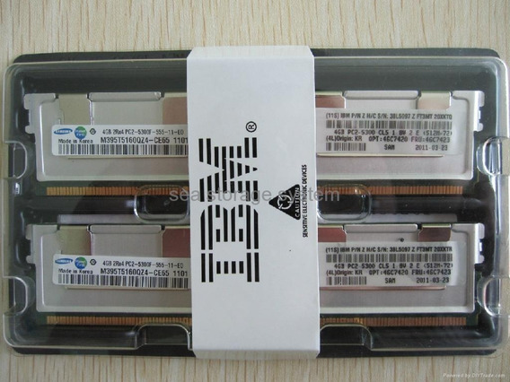 8gb Kit ( 2x4gb ) Server Intel S5000vsa S5000xvn S5400sf
