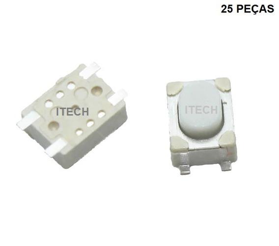 25 Pçs - Botão Tactil Telecomando Toyota Honda Ford Gm