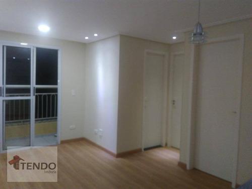 Imagem 1 de 18 de Imob01 - Apartamento 46 M² - Venda - 2 Dormitórios - Vila Gonçalves - São Bernardo Do Campo/sp - Ap2233