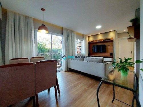 Imagem 1 de 16 de Apartamento Com 2 Dormitórios À Venda, 76 M² Por R$ 316.400,00 - Parque Fazendinha - Campinas/sp - Ap2777