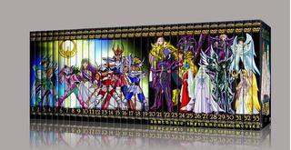 Saint Seiya Dvd / Los Caballeros Del Zodiaco Coleccion Box