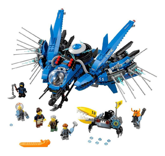 Brinquedo Lego Ninjago Avião Relâmpago Produto Novo