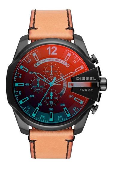 Reloj Diesel Mega Chief Dz4476 Acero Color Negro Tornazol